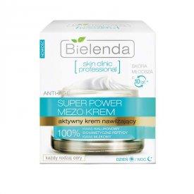 Bielenda Skin Clinic Professional aktív hidratáló nappali/éjszakai arckrém, 50 ml