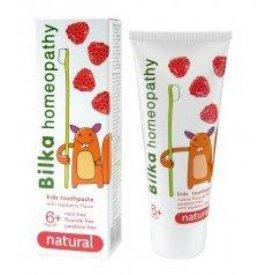 Bilka homeopátiás gyermekfogkrém 6+, málnás, 50 ml
