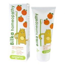 Bilka homeopátiás gyerekfogkrém 2+, mandarinos, 50 ml