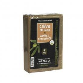 Bioesti Organikus olíva szappan vaníliával és avokádóolajjal, 100 g