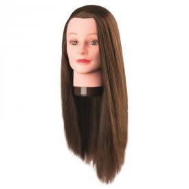 Comair gyakorló babafej szintetikus hajból, 60 cm