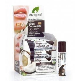 Dr. Organic Ajakbalzsam bioaktív szűz kókuszolajjal 5,7 ml
