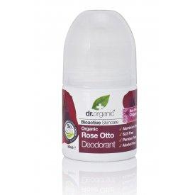 Dr Organic alumíniummentes dezodor bioaktív damaszkuszi rózsaolajjal, 50 ml