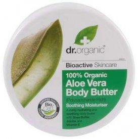 Dr. Organic Bio Aloe Vera testápoló vaj, 200 ml