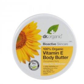Dr. Organic Bio E-Vitaminos testápoló vaj, 200 ml
