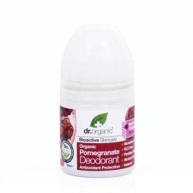 Dr. Organic Bio Gránátalma golyós dezodor, 50 ml