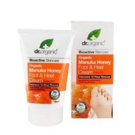 Dr. Organic Bio Manuka mézes láb- és sarokápoló, 125 ml