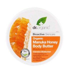 Dr. Organic Bio Manuka mézes testápoló vaj, 200 ml