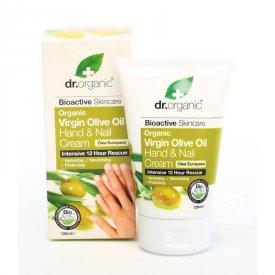Dr. Organic Bio Oliva kéz- és körömápoló krém, 125 ml