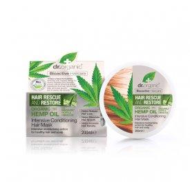 Dr. Organic hajnövekedést serkentő intenzív hajpakolás Baicapil formulával és kendermagolajjal, 200 ml