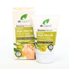 Dr. Organic Láb & sarokápoló krém bio olívaolajjal, 125 ml