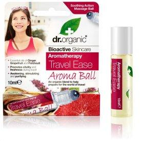 Dr Organic segítség az útra Aroma Ball golyós illóolaj-keverék, 10 ml