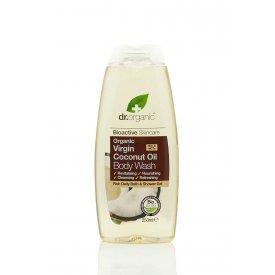 Dr. Organic tusfürdő bio szűz kókuszolajjal, 250 ml