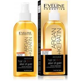 Eveline Argán+Keratin exkluzív hajolaj 8in1, 150 ml