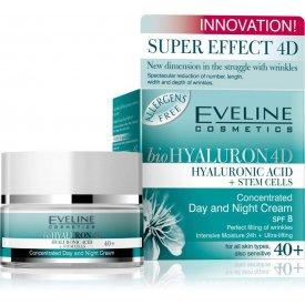 Eveline bioHyaluron 4D 40+ nappali és éjszakai krém 50 ml