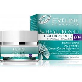 Eveline bioHYALURON 4D 60+ nappali és éjszakai krém 50 ml