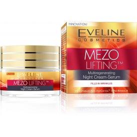 Eveline Mezo Lifting ránctalanító éjszakai krém, 50 ml