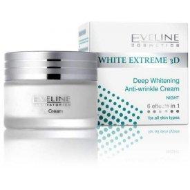 Eveline White Extreme 3D éjszakai arckrém 50 ml
