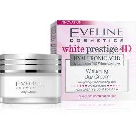 Eveline White Prestige 4D fehérítő nappali krém, 50 ml