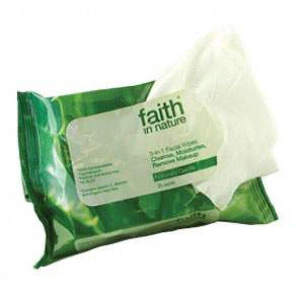 Faith in Nature arctisztító kendő, 25 db