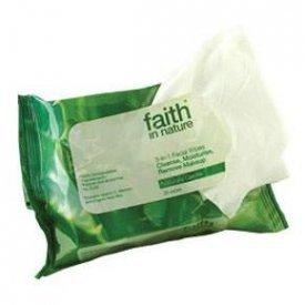 Faith in Nature arctisztító kendő (25 db)