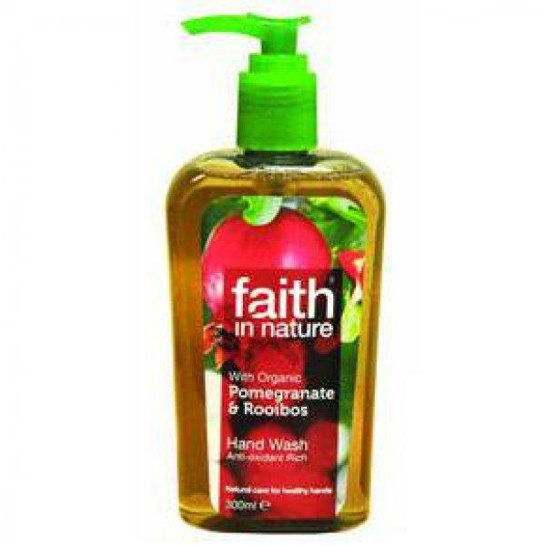 Faith in Nature folyékony kézmosó gránátalma és rooibos, 300 ml