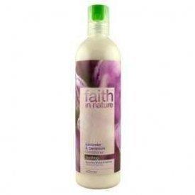 Faith in Nature hajkondicionáló érzékeny fejbőrre, Levendula és geránium, 250 ml
