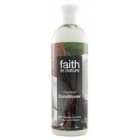 Faith in Nature hajkondicionáló festett és száraz hajra, Kókusz, 250 ml