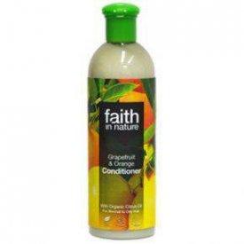 Faith in Nature hajkondicionáló normál és zsíros hajra, Grapefruit és narancs, 250 ml