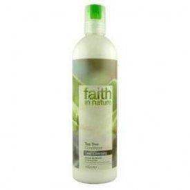 Faith in Nature hajkondicionáló normál, zsíros és korpás hajra, Teafa, 250 ml