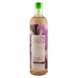 Faith in Nature sampon, Levendula és geránium, 250 ml