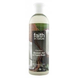 Faith in Nature tusfürdő, kókusz, 250 ml