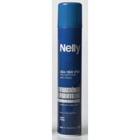 Aqua Nelly hajlakk göndör hajra erős tartás, 300 ml