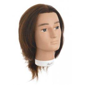 Hair Tools Bobby férfi gyakorló babafej, 25 cm