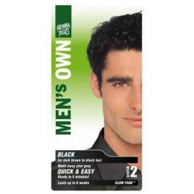 Hennaplus férfi hajfesték fekete