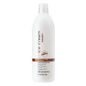 Inebrya Ice Cream Keratin Restructuring sampon, 1 l