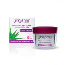JimJams Aloe Q10 Relax tápláló éjszakai krém, 50 ml JJ3010