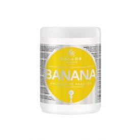 Kallos KJMN hajerősítő banán hajpakolás multivitaminnal, 1 l