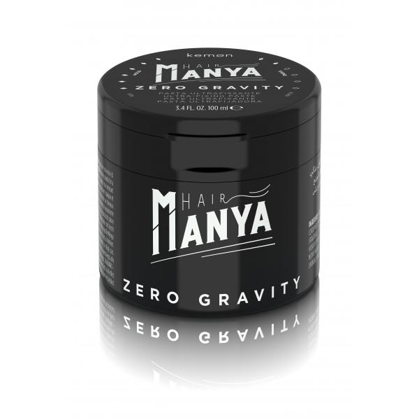 Kemon Hair Manya Zero Gravity ultra erős fixáló paszta, 100 ml