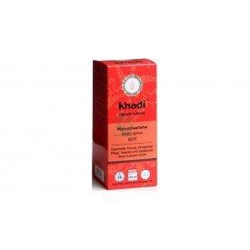 Khadi hajfesték por élénkvörös 100% henna, 100 g