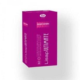 Lisap Ultimate Kit tartós hajkiegyenesítő szett érzékeny és festett hajra