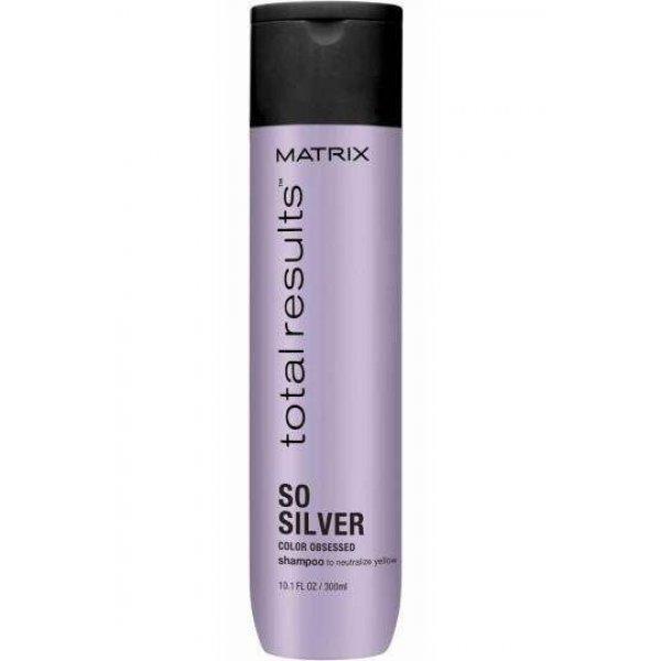 Matrix Total Results Color Obsessed So Silver sampon a ragyogó hajszínért, 300 ml