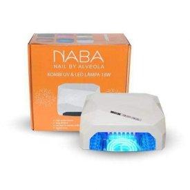 NABA Kombi UV&LED lámpa 18 W, White