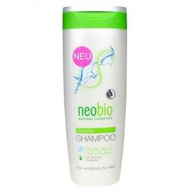 Neobio Illatmentes sampon érzékeny fejbőrre bio Aloe verával, 250 ml