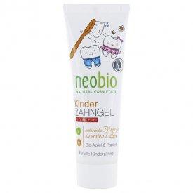 Neobio Fluoridmentes Gyermek fogkrém bio alma és papayakivonattal, 50 ml