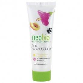 Neobio 24 órás Kiegyensúlyozó arckrém bio sárgabarackmag-olajjal és hibiszkusszal, 50 ml