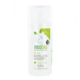 Neobio 3 az 1 ben Micellás arctisztító víz bio mentakivonattal és tengeri sóval, 150 ml
