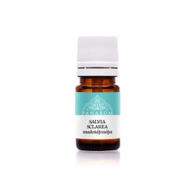 Panarom muskotályzsálya (Salvia sclarea) illóolaj, 5 ml