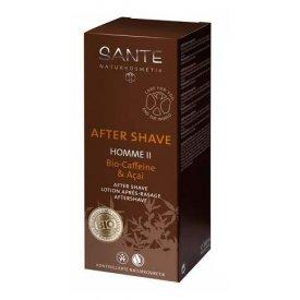Sante Homme II After Shave Bio koffeinnel és bio Akai bogyó kivonattal, 100 ml