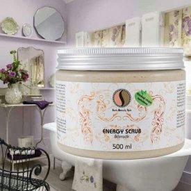 Sara Beauty Spa Energy Scrub új krémbázisú intenzív tégelyes bőrradír, 500 ml